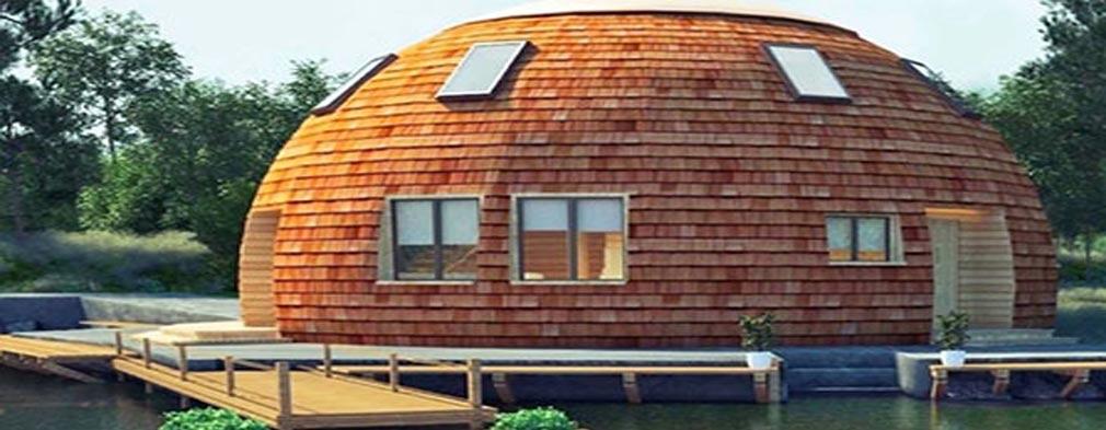 سازه های گنبدی چوبی
