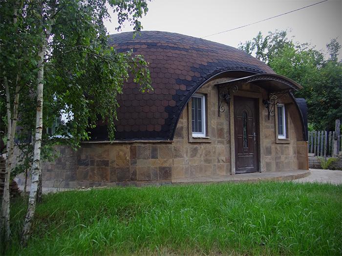 سازه های یکپارچه گنبدی ضد زلزله، مقاوم، زیبا، مناسب برای ساخت خانه های ویلایی